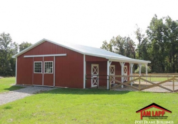 Horse Barn Building – Flemington, New Jersey