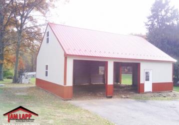 Residential Polebarn Building in Hummelstown, Pennsylvania