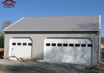 Residential Polebarn Building in Jarrettsville, Maryland