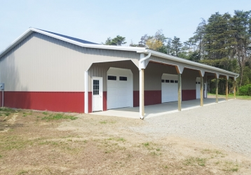Residential Pole Building Catlett Virginia
