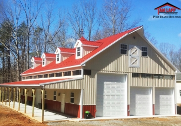 2015 Building of the Year – Residential Pole Building in Fredericksburg, Virginia