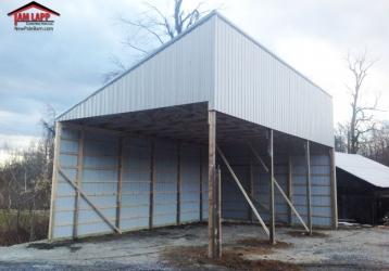 Agricultural Polebarn Building in Gardners, Pennsylvania