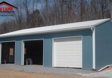 Residential Polebarn Building in Harrisburg, Pennsylvania