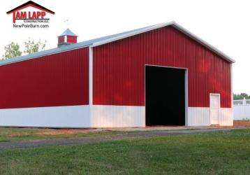Commercial Polebarn Building in Montpelier, VA