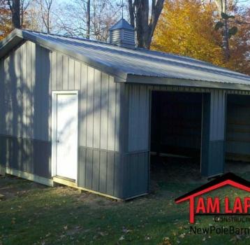 The Quick Fix Model Short – Residential Polebarn Building in Scranton, Pennsylvania