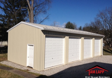 Residential Polebarn Building – York, Pennsylvania