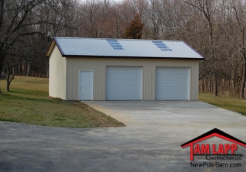 The Quick Fix Model 3 – Residential Polebarn Building in North East, Maryland