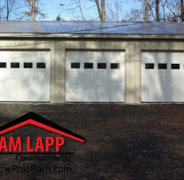 The TRI-PEX Polebarn Building in Pottstown, Pennsylvania