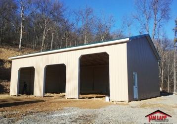 Residential Pole Building in Keyser, West Virginia