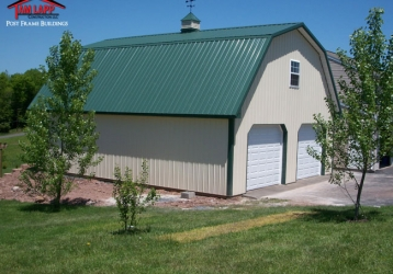 Residential Polebarn Building in Ringtown, Pennsylvania