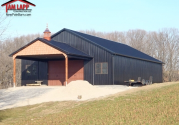 Speciality Polebarn Building in Shoemakersville, Pennsylvania