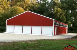Commercial Polebarn Building in Conowingo, Maryland