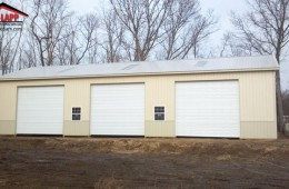 Commercial Polebarn Building in Yaphank New York