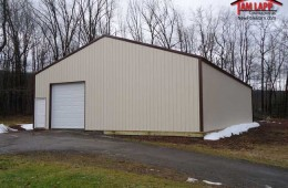 Commercial Polebarn Building in Whitehaven, Pennsylvania