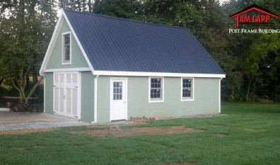 Speciality Polebarn Building in Churchville, Maryland