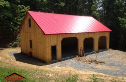 Residential Pole Barn Building in Fulks Run Virginia